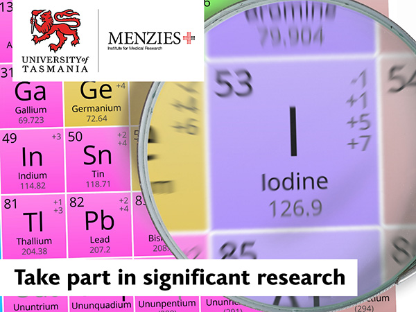 Iodine research